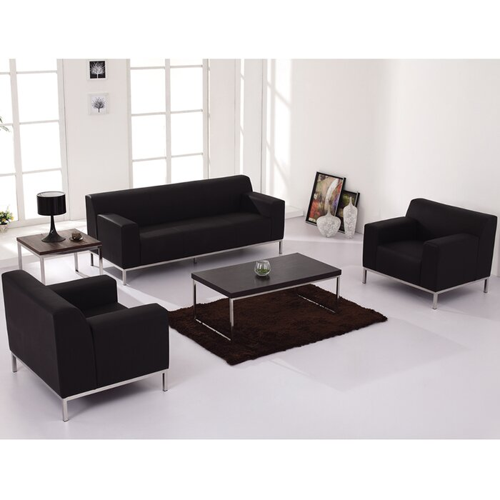 Flash Furniture Hercules Definity Leather Living Room Collection