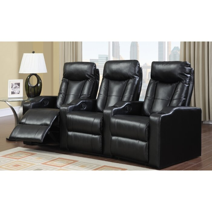 Wildon Home ® Camden Home Theater Seating (Row of 3)