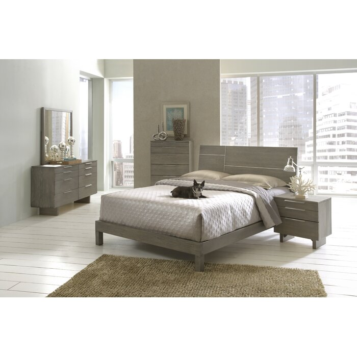 Wildon Home Violet Platform Customizable Bedroom Set Reviews Wayfair