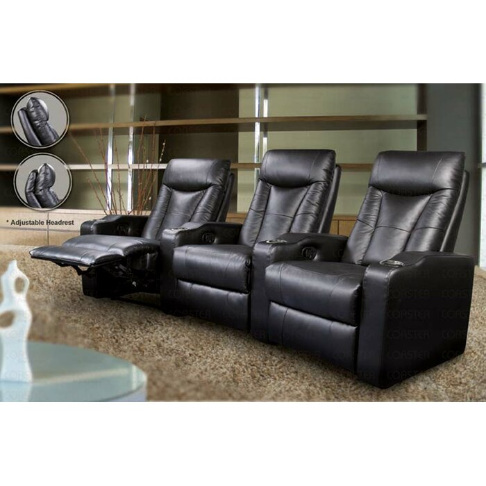 Wildon Home ® St. Helena Home Theater Seating