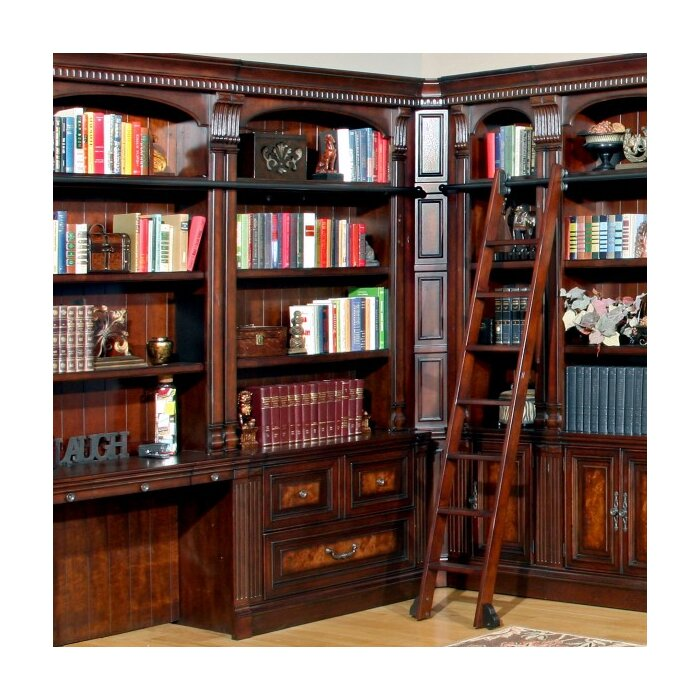 Astoria Grand Ramsey 2 Piece Library File and Hutch