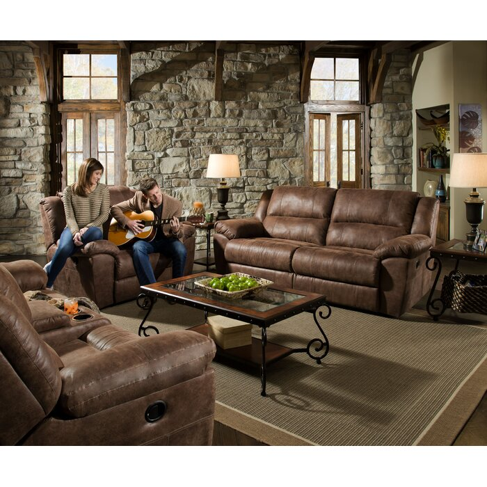 Simmons Upholstery Phoenix Mocha Living Room Collection