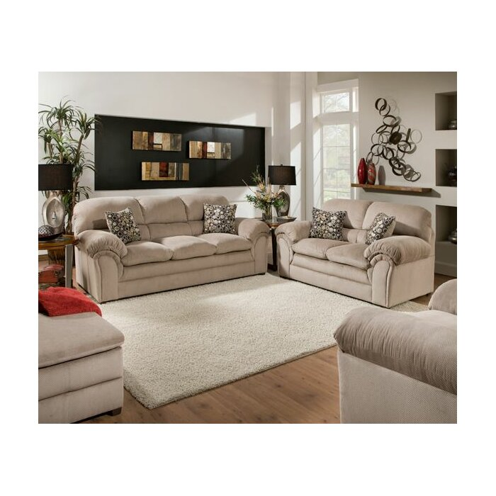 Simmons Upholstery Harper Living Room Collection Reviews Wayfair
