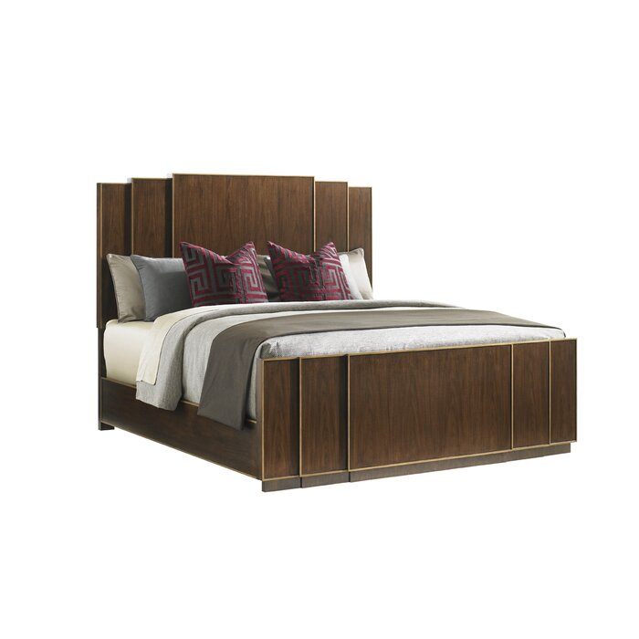 Lexington tower place panel customizable bedroom set for Places to get bedroom furniture