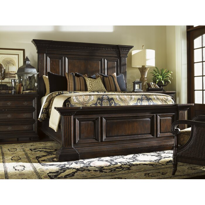 Tommy Bahama Home Island Traditions Panel Customizable Bedroom Set