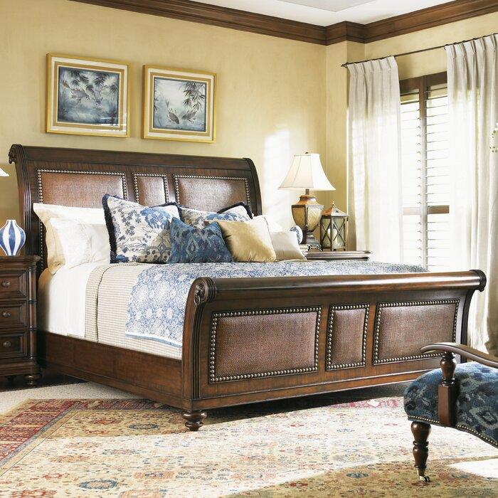 Tommy bahama home landara sleigh customizable bedroom set Tommy bahama bedroom furniture sets