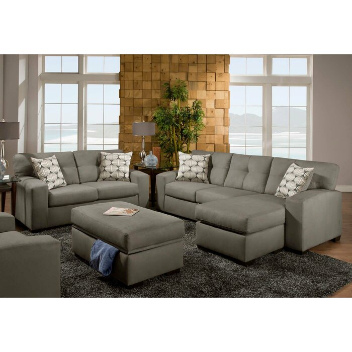 Chelsea Home Rockland Chaise Living Room Collec..