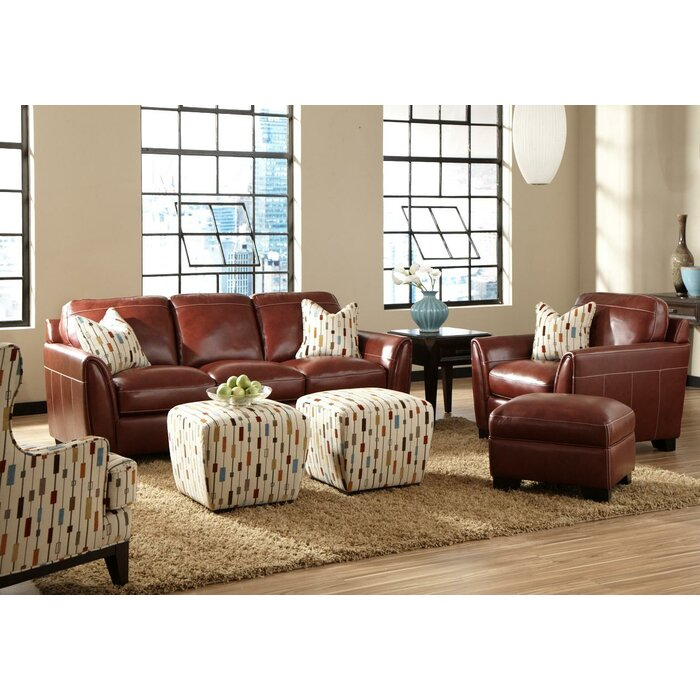 Simon Li Midtown Leather Living Room Collection