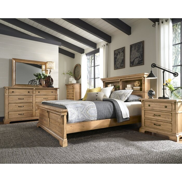 Progressive Furniture Inc. Chestnut Hill Storage Platform Bed