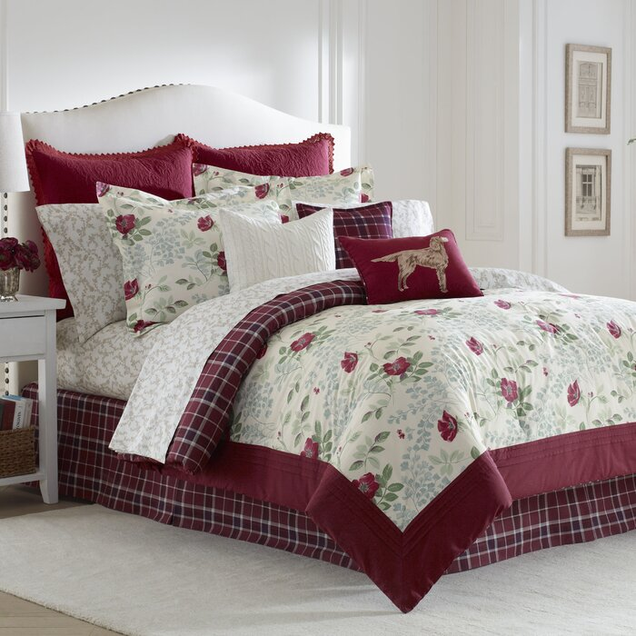 Comforter Sets Queen Ashley: Laura Ashley Home Ella Comforter Collection & Reviews
