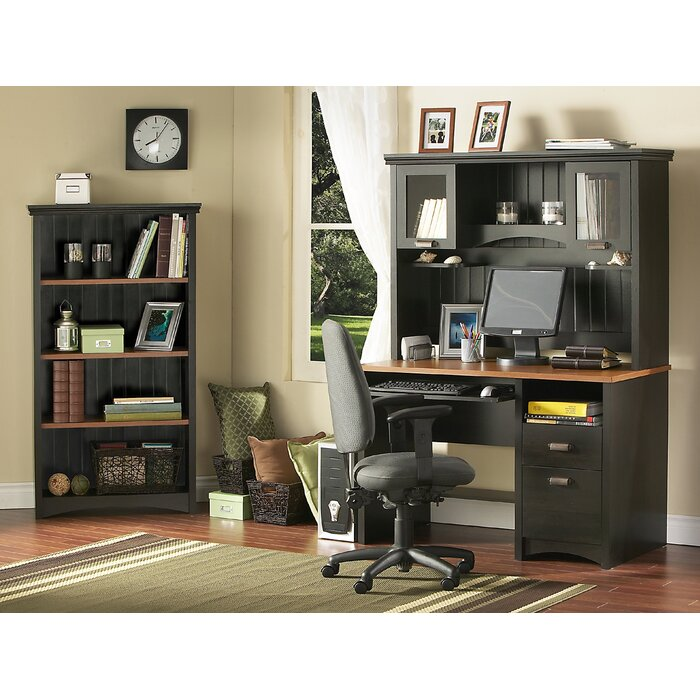 South Shore Gascony Home Office Set in Ebony