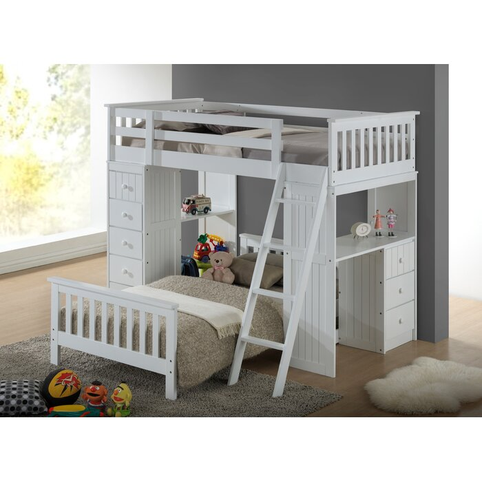 Broyhill Kids Marco Island Twin L-Shaped Bunk Bed with Storage