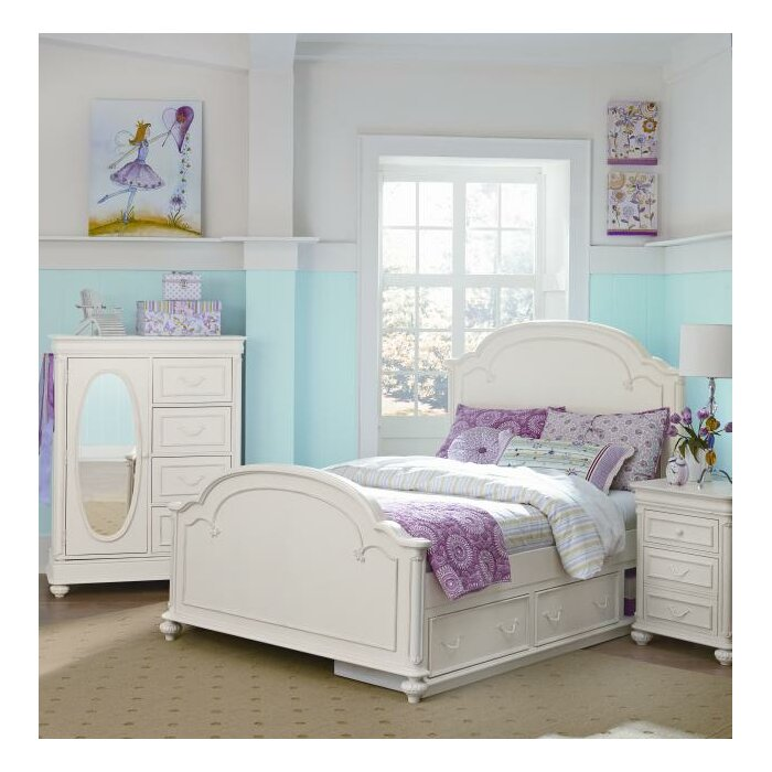 LC Kids Charlotte Panel Customizable Bedroom Set