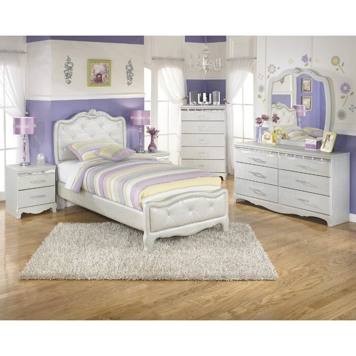 Signature Design by Ashley Zarollina Panel Customizable Bedroom Set