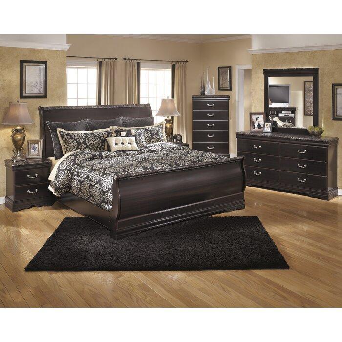 Signature Design by Ashley Esmarelda Sleigh Customizable Bedroom Set