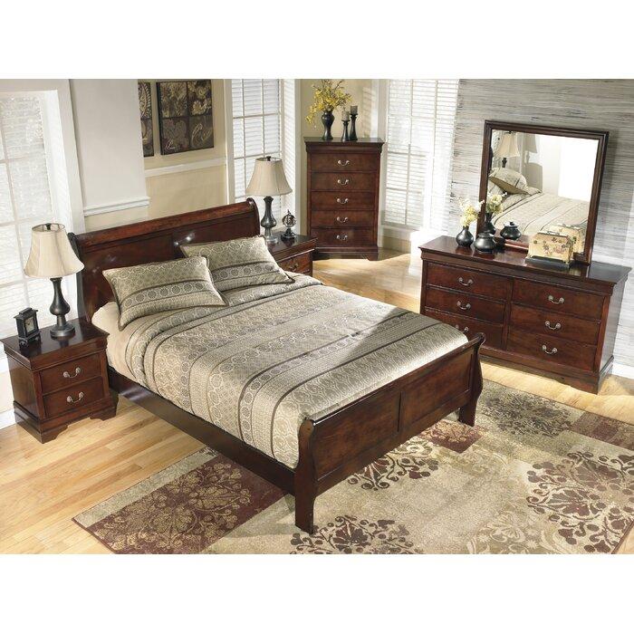 Signature design by ashley alisdair panel customizable - Ashley bedroom furniture reviews ...