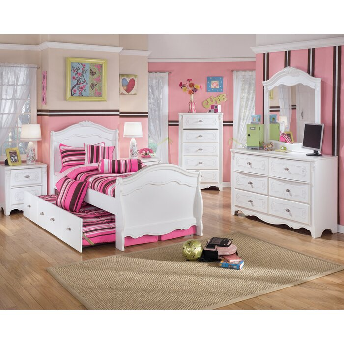 Signature design by ashley lydia panel customizable - Ashley bedroom furniture reviews ...
