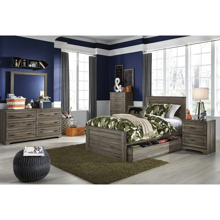 Viv + Rae Aleah Storage Trundle Panel Customizable Bedroom Set