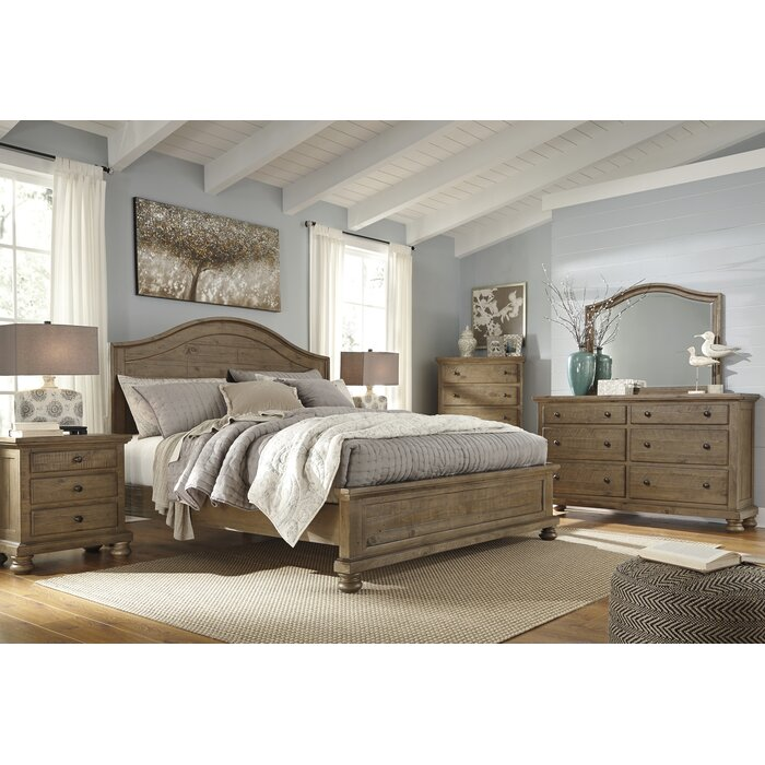 Loon Peak Battalgazi Panel Customizable Bedroom Set