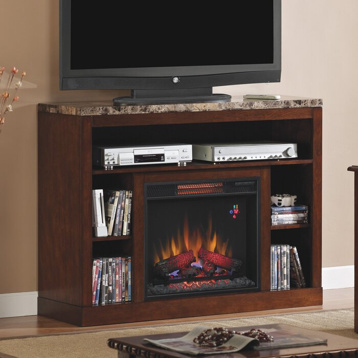 Classic Flame Adams Tv Stand With Electric Fireplace Reviews Wayfair