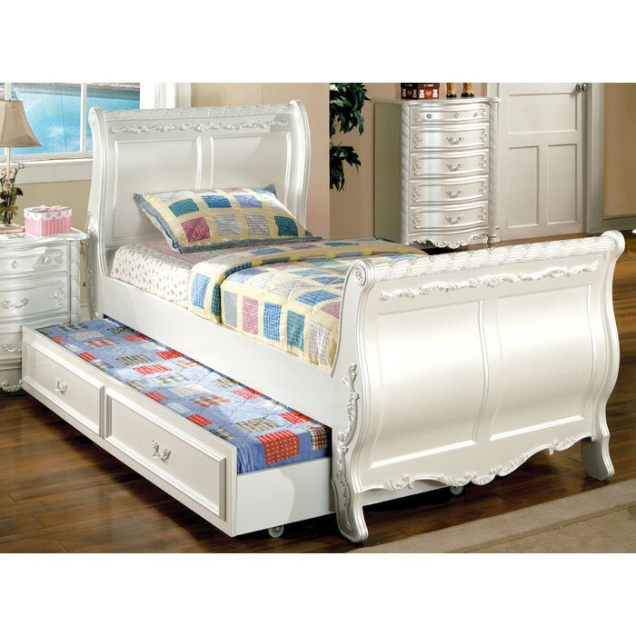 Hokku Designs Victoria Sleigh Bed