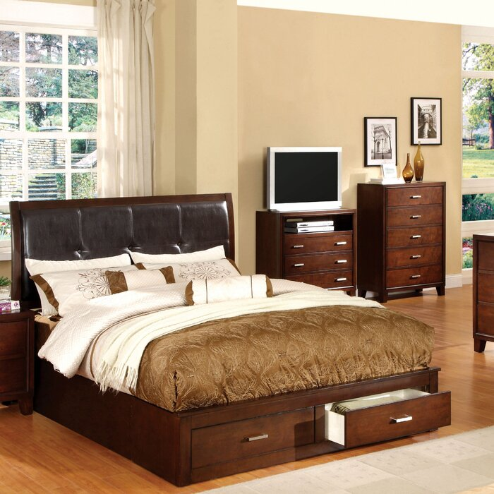 Andover Mills Platform Customizable Bedroom Set