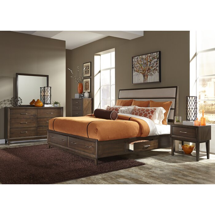 Three Posts Bloomington Storage Customizable Bedroom Set