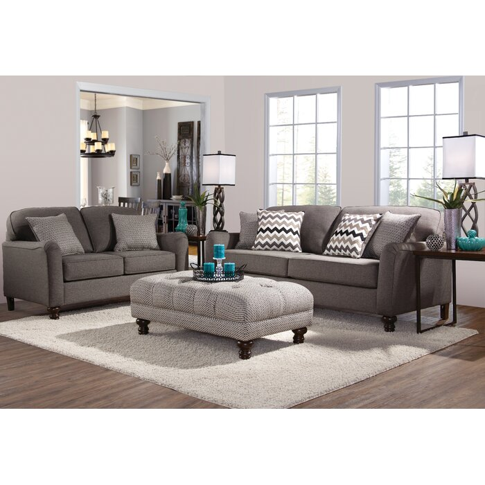 Three posts bilbrook living room collection reviews wayfair - Living spaces living room sets ...