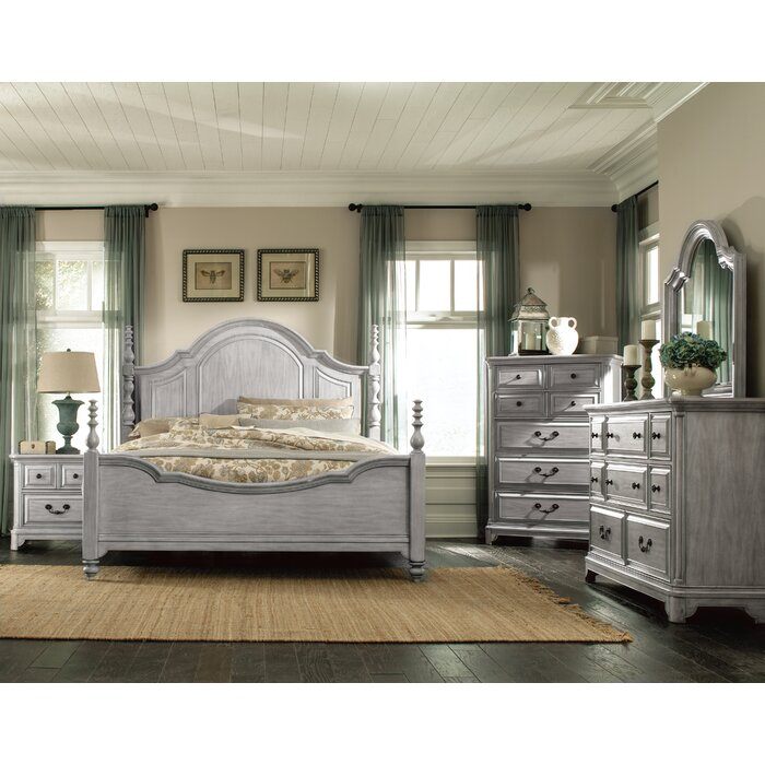 Darby Home Co Chelmscote Panel Customizable Bedroom Set