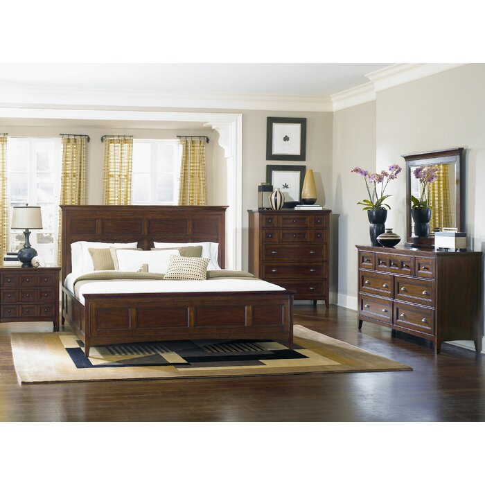 Magnussen Harrison Panel Customizable Bedroom Set Reviews Wayfair