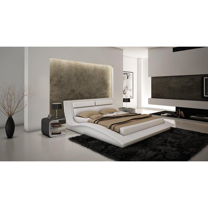 J M Furniture Wave Platform Customizable Bedroom Set Reviews Allmodern