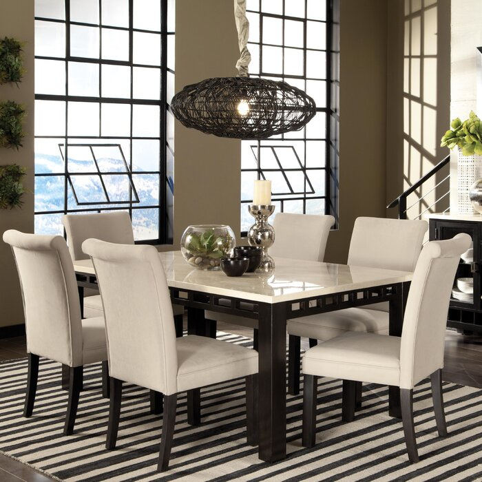 Latitude Run Harris 7 Piece Dining Tab..