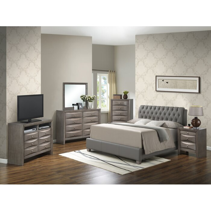 Glory Furniture Panel Customizable Bedroo..