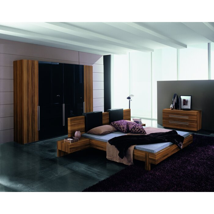 Rossetto USA Gap Platform Customizable Bedroom Set