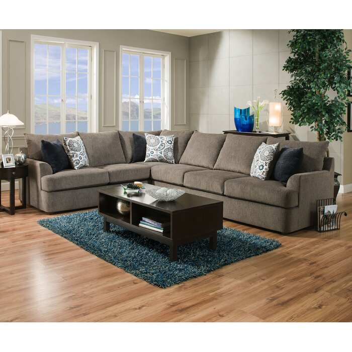 Red Barrel Studio Seminole Sectional