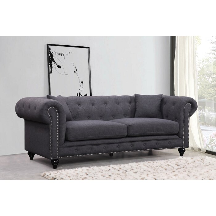 Meridian Furniture USA Chesterfield Living Room Collection Reviews Wa