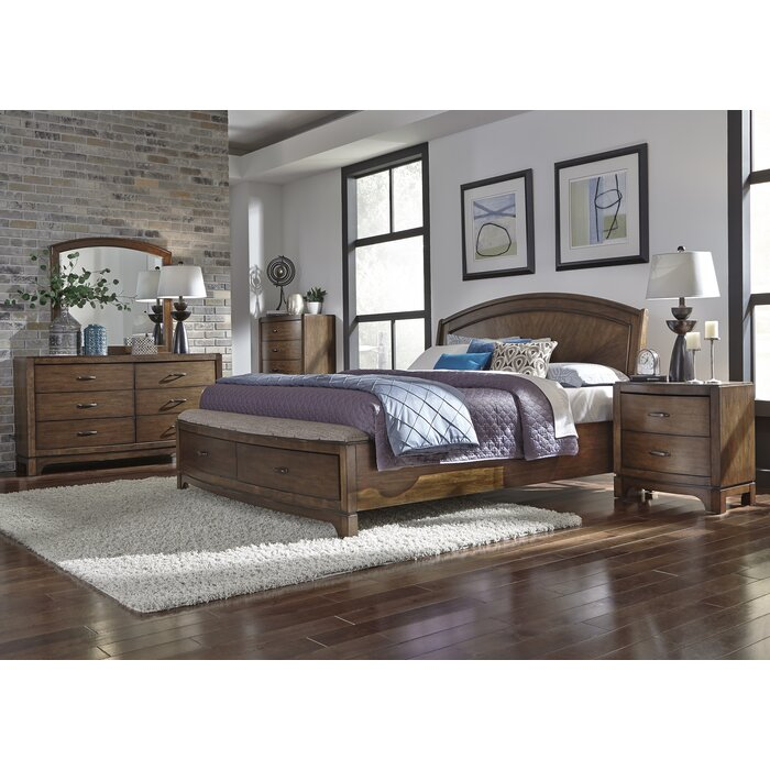 Darby Home Co Aranson Platform Customizable 8 Piece Bedroom Set