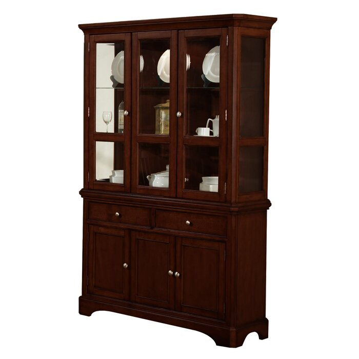 Alcott Hill Harpster China Cabinet