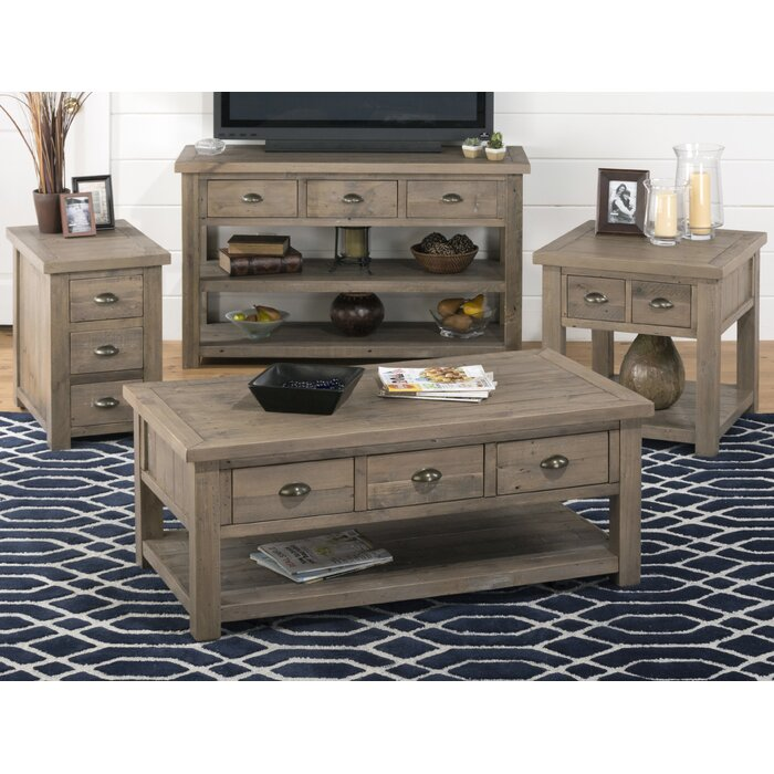 August Grove Coffee Table Set