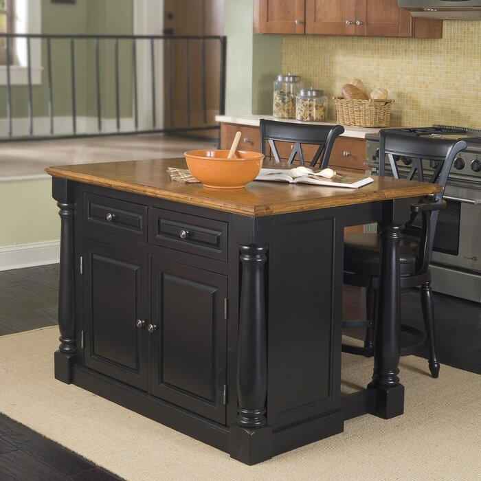 August Grove Kitchen Island
