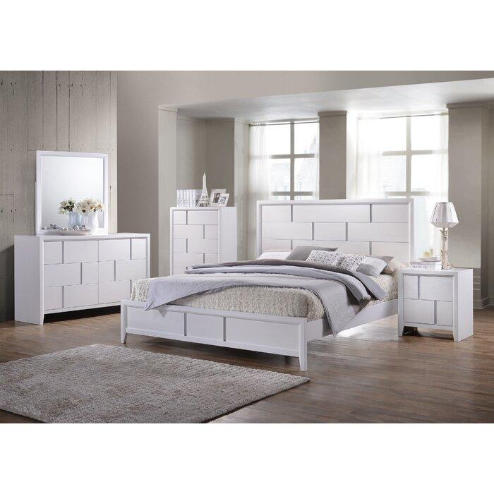 simmons casegoods buckhead panel customizable bedroom set