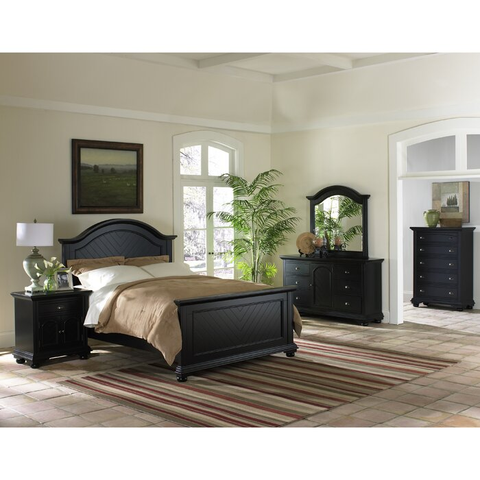 Bay Isle Home Panel Customizable Bedroom Set