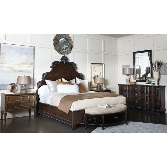 Astoria Grand Sofitel Platform Customizable Bedroom Set Wayfair