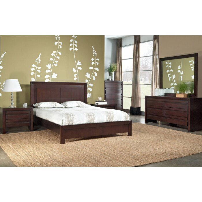 World Menagerie Fierro Platform Customizable Bedroom Set
