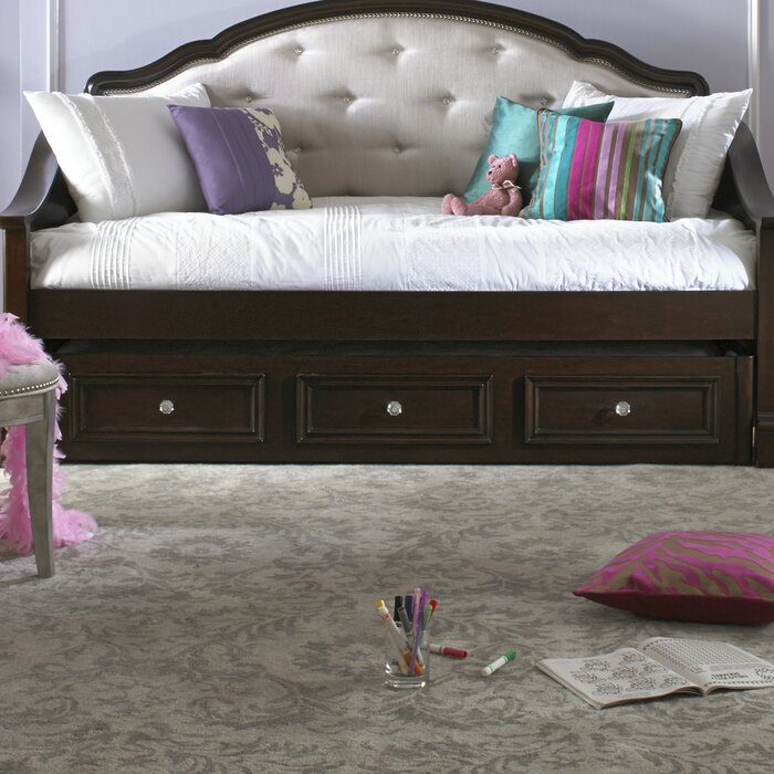 Glam Bedroom Design Photo By Wayfair: Samuel Lawrence Girls' Glam Daybed With Trundle & Reviews