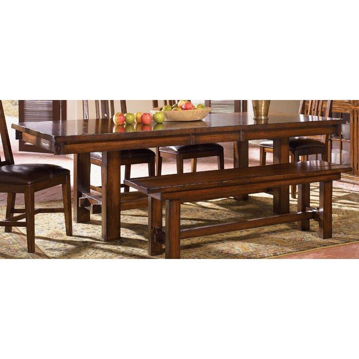 Loon Peak Stockett Extendable Dining Table