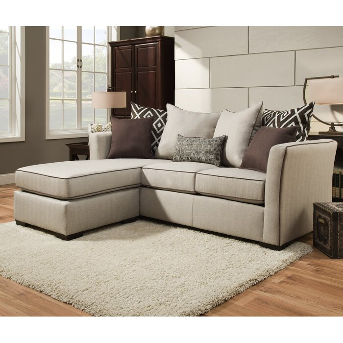 Latitude Run Araceli Reversible Chaise Sectional by Simmons Upholstery