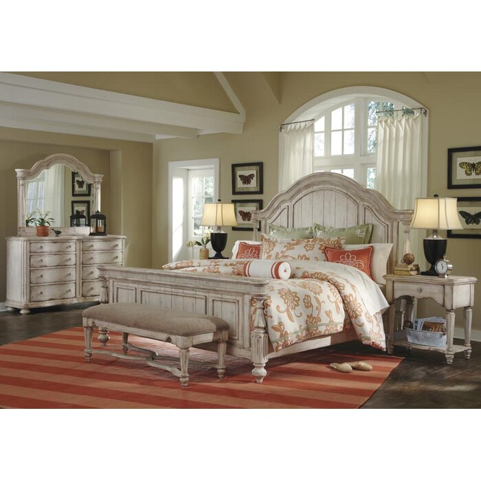 Rosalind Wheeler Randolph Panel Customizable Bedroom Set
