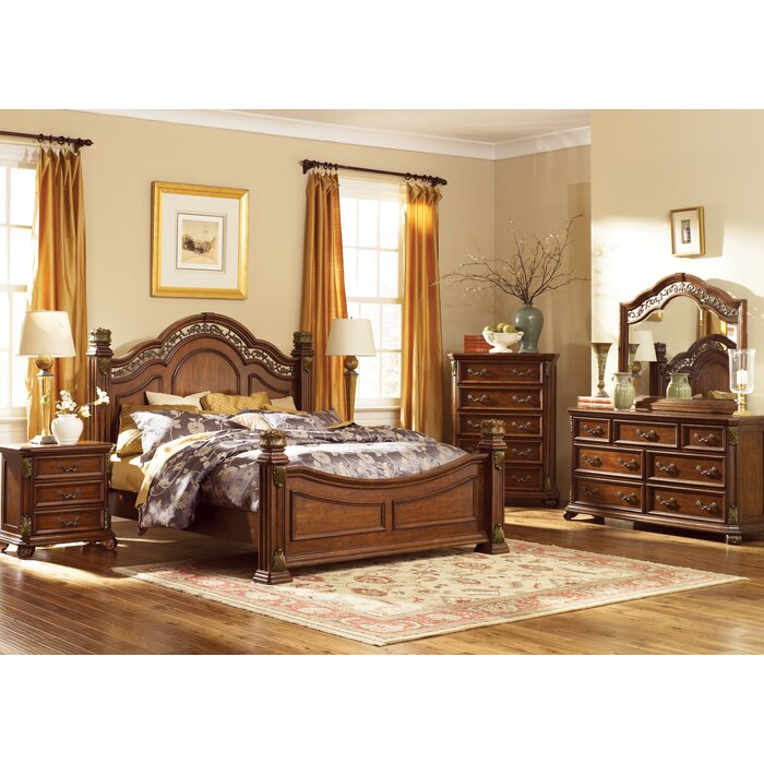 Astoria Grand Cavas Panel Customizable Bedroom Set
