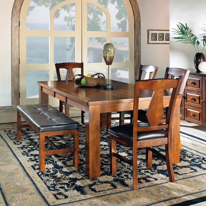 Three Posts Plainville 6 Piece Dining Set